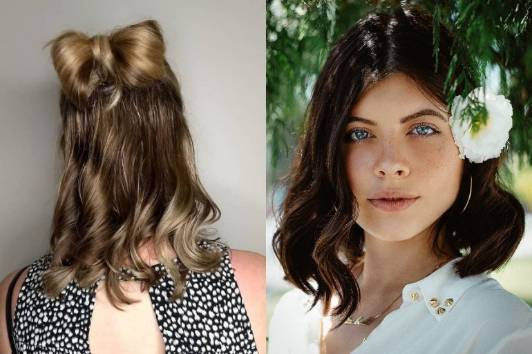 Sorprendentemente fácil peinados niña pelo corto liso Fotos de las tendencias de color de pelo - Peinados para cabello corto fáciles para mujer, niñas y ...