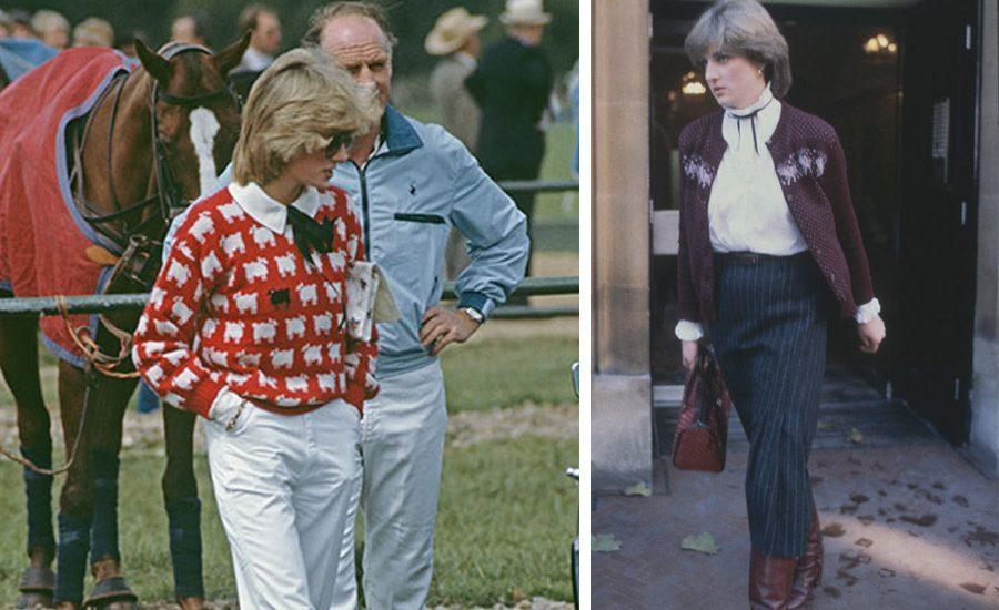 Recopilación de los suéteres de la princesa Diana que amarás
