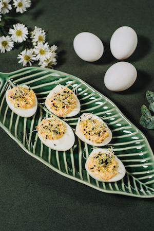 huevos con germinados