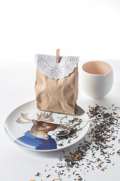 bolsa de té navidad vanidades
