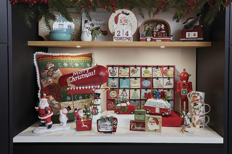 tendencias navidad decoración retro