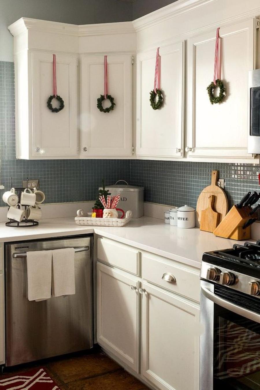 decoracion de navidad para la cocina