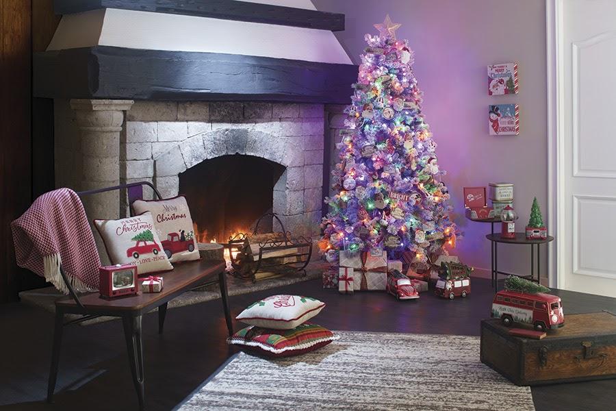decoración del árbol navideño