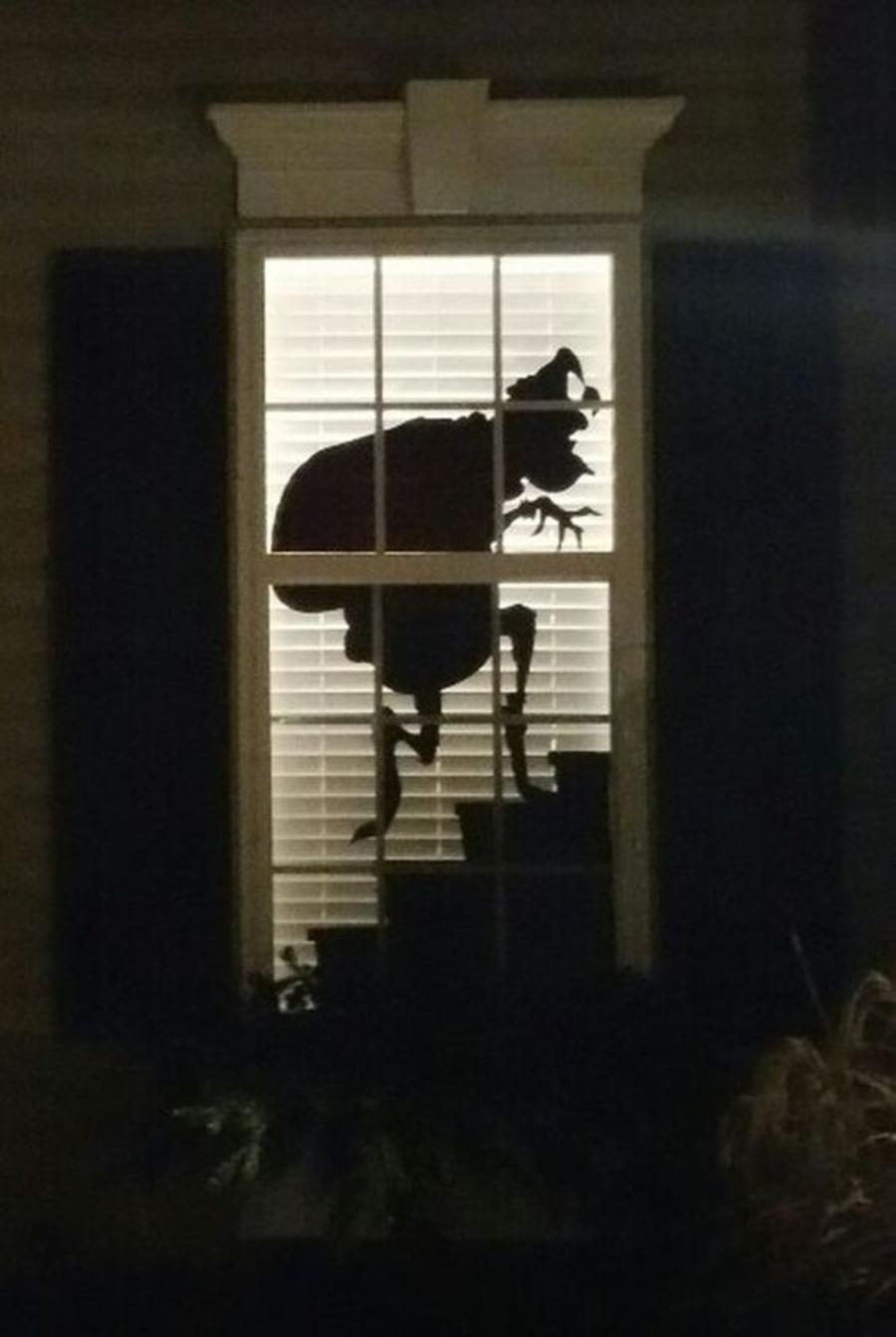 decoraciones navideñas para ventanas el grinch