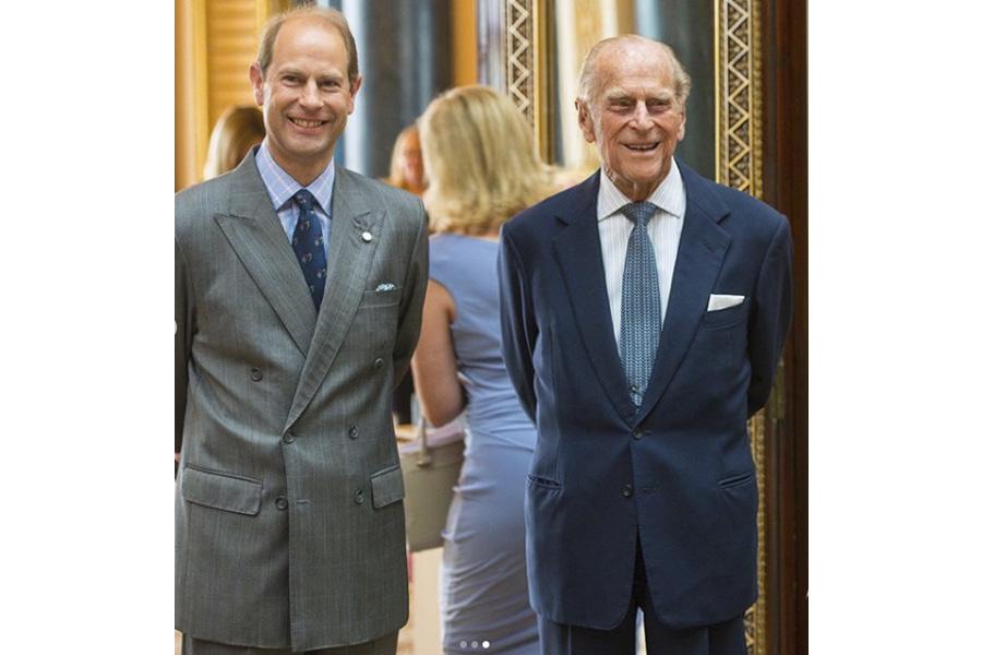 duque de edimburgo y earl wessex