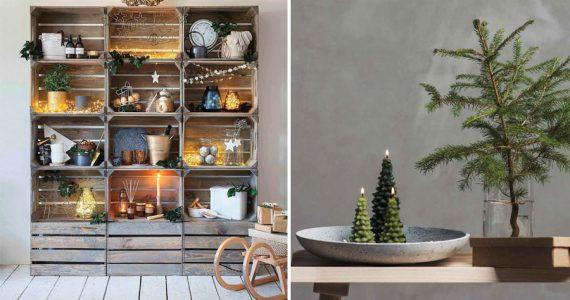 ecodecoración de navidad