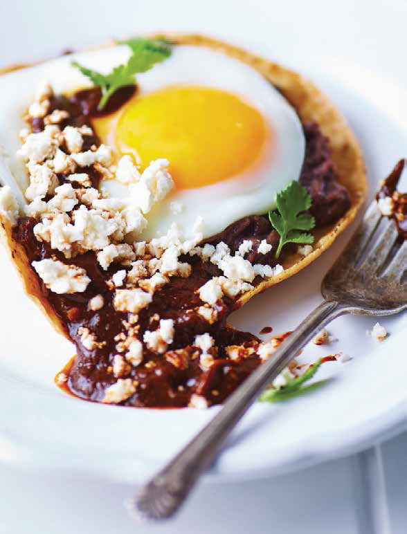 huevos en salsa pasilla