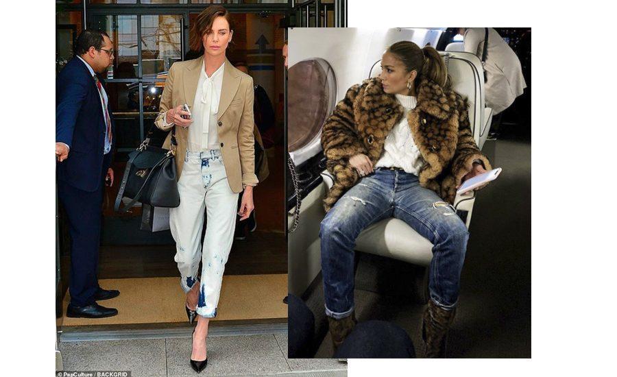 Famosas de más de 40 con jeans (a Carolina Herrera no le encanta esto)