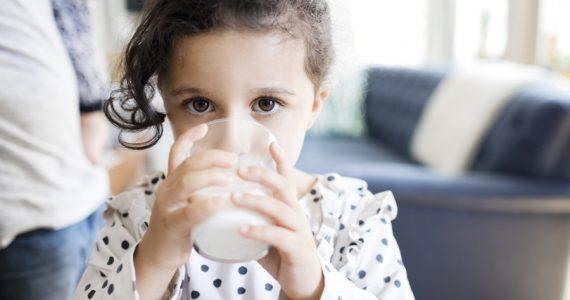 lácteos y niños
