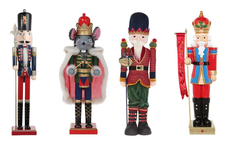 decoración con Cascanueces Navidad