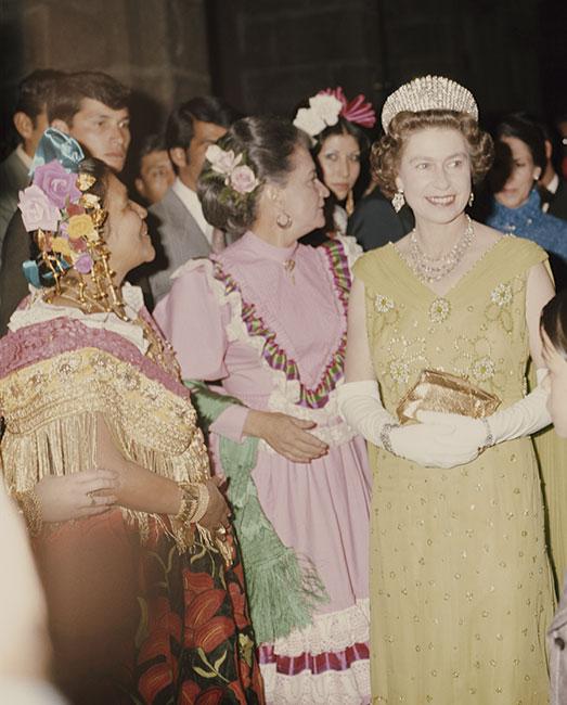 Cuando los Windsor visitaron México