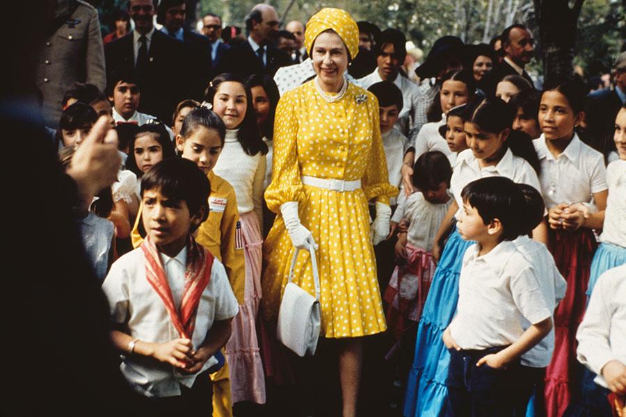 Visita de la reina Isabel a México