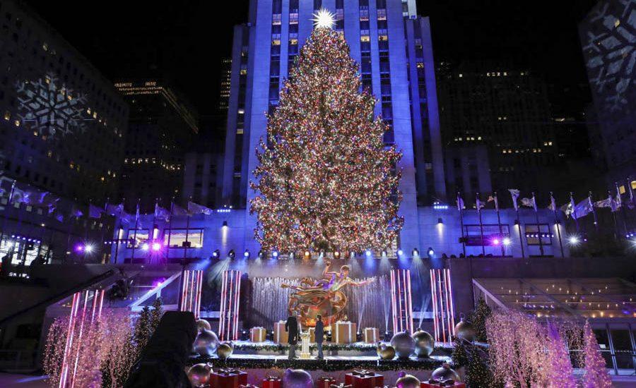 rockefeller center árbol de navidad 2020