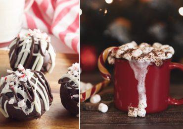 bombas de chocolate chocolate caliente