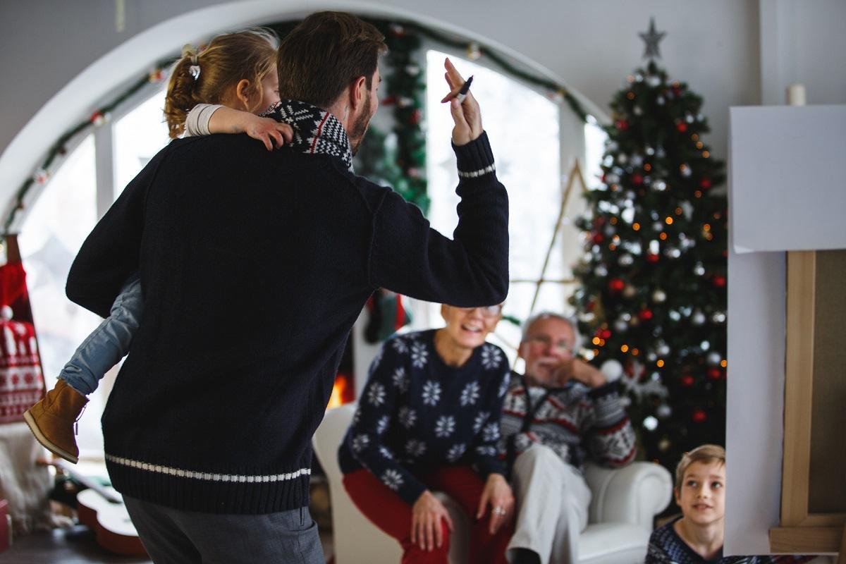 arbol navideno diversion que hacer en la cena navidena