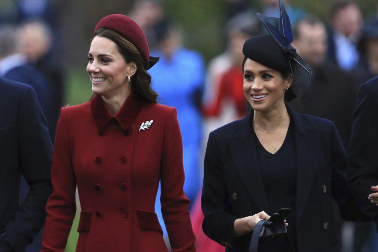meghan y kate middleton royals