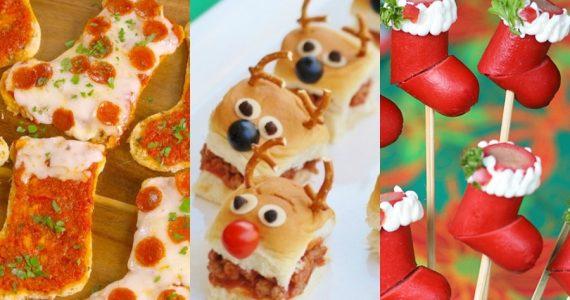 menu infantil para ninos cena navideña sencillo facil