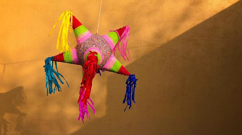 piñata para posadas