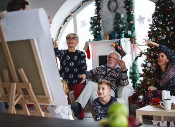 Juegos en familia para divertirse en Navidad y Ano Nuevo