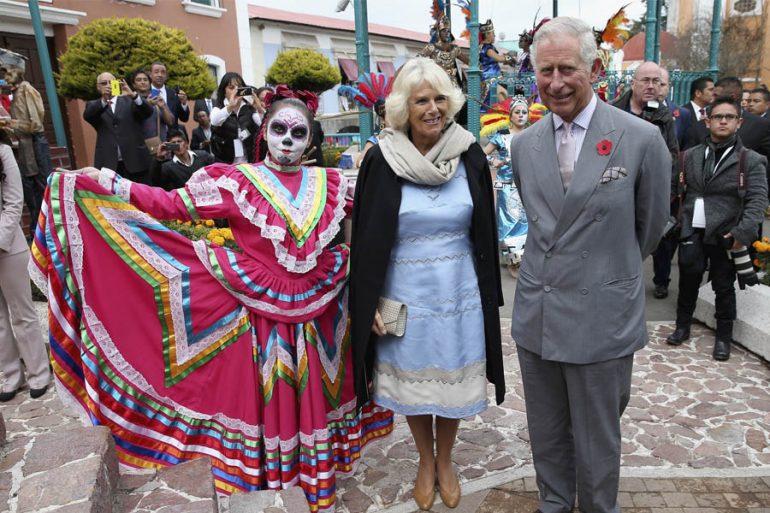Un recuento de la jovial y divertida visita del príncipe Carlos a México en 2014