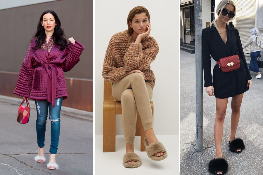 moda slippers sandalias