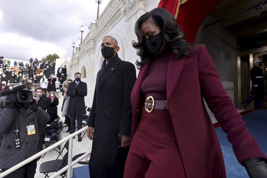 michelle obama abrigos moda