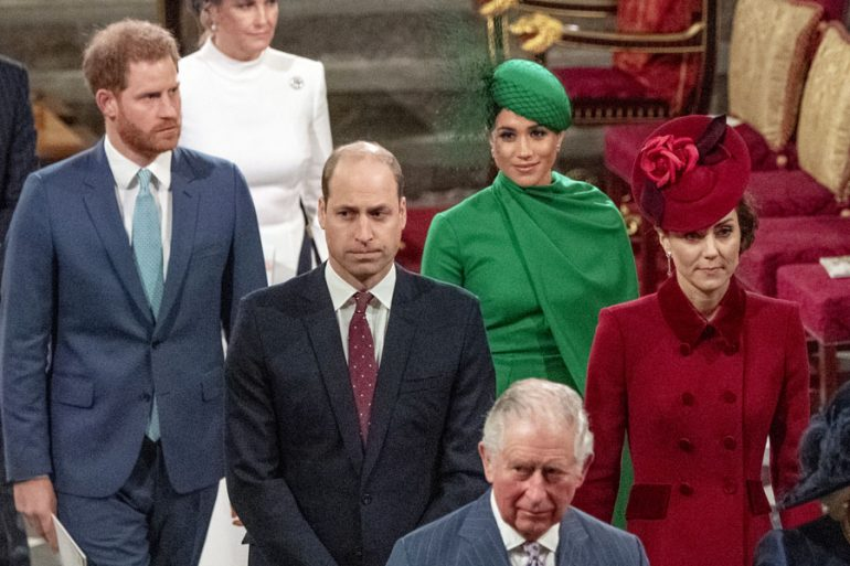harry meghan william kate commonwealth reunión