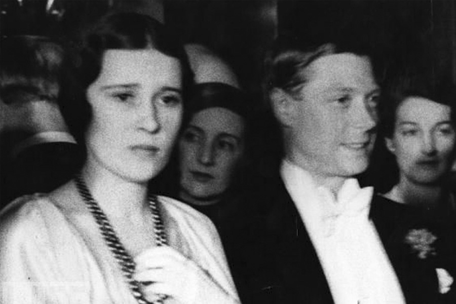 Eduardo VIII y Thelma Morgan
