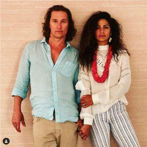 Camila Alves y Matthew McConaughey contra la infidelidad en el matrimonio