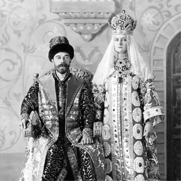 Nicolás II y Alejandra Fiódorovna Románova (los románov)