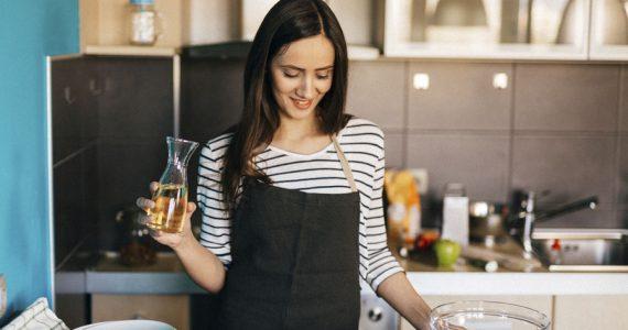 aceites para cocinar vegetales mujer sano