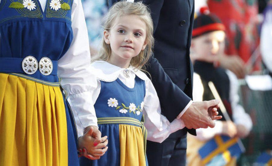 Conoce a la simpática y risueña hija de la princesa Victoria, Estela de Suecia, quien celebra su cumpleaños número 9.