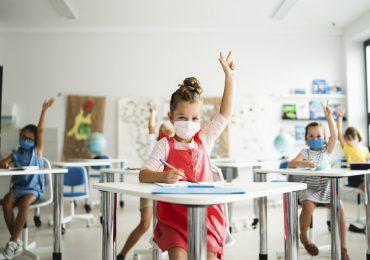niños escuela coronavirus
