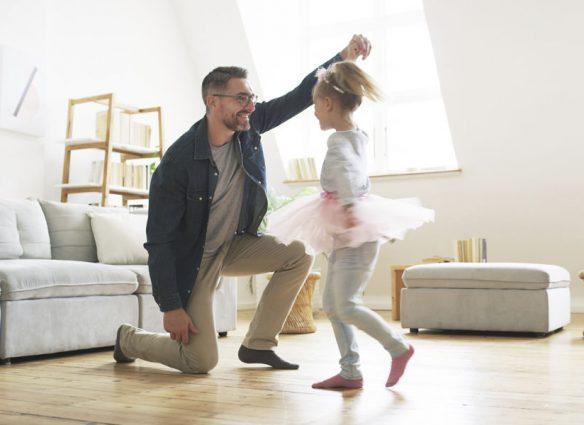 padres e hijas gastan más