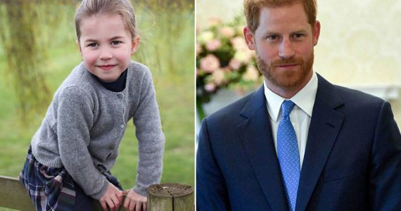 princesa charlotte harry