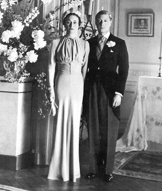 El día de la boda de Wallis Simpson y Edward