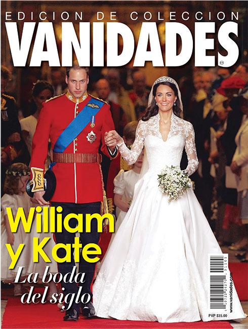 Portada de la boda real de William y Kate