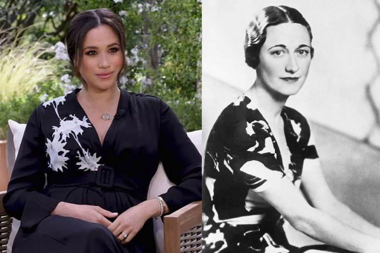 ¿Y ese look? Comparan (nuevamente) a Meghan con Wallis Simpson