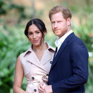 El príncipe Harry y Meghan Markle (entrevista con Oprah)