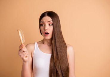 caída del cabello mujer