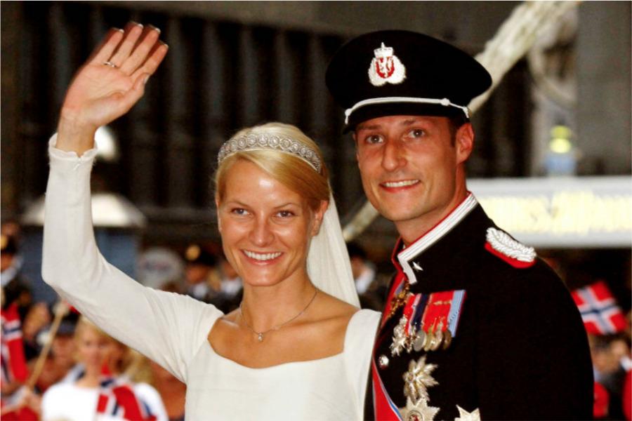 Boda de el Príncipe Haakon y Mette-Marit Tjessem