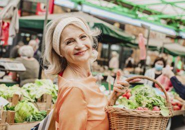 vegetales y verduras de cuaresma alimentos mujer