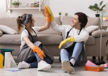 spring cleaning limpieza de primavera en el hogar casa