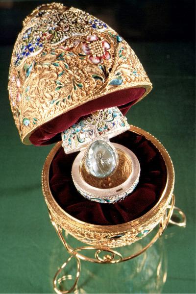 Huevos de pascua de Faberge