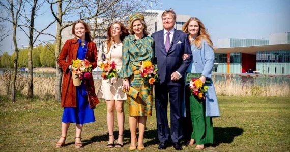Koningsdag maxima de holanda amalia holanda 2021
