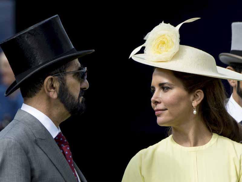 mohammed al maktoum y la princesa haya