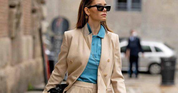 boyfriend jacket mujer a la moda
