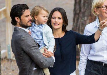 príncipe alexander hijo de carlos felipe y sofía de suecia cumple 5 años