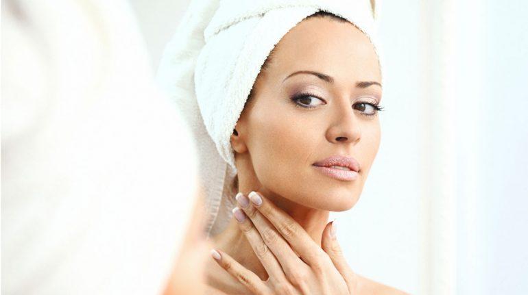 cuidados del cuello mujer belleza