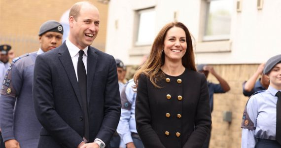 duques de cambridge fuerzas aéreas kate middleton príncipe william